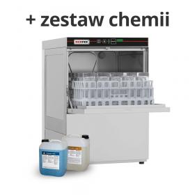 Zmywarka do szkła QQI 37 + chemia