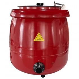 Kociołek elektryczny do zup, czerwony 8,5l