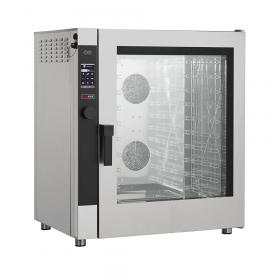 Piec gastronomiczny konwekcyjno-parowy programowalny o podwyższonej mocy + automatyczne mycie EPD X 1011 EAM