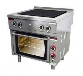 Kuchnia elektryczna z piekarnikiem elektrycznym 4x4,0 kW