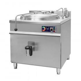 Kocioł warzelny gastronomiczny z grzaniem pośrednim, 900x900x900, elektryczny, P 24kW, V 150l