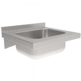 Umywalka gastronomiczna nierdzewna 400x400x150mm