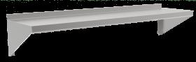 Półka jednopoziomowa nierdzewna 1200x300x400mm