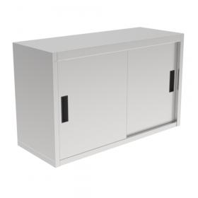 Gastronomiczna szafka wisząca z drzwiami suwanymi ze stali nierdzewnej 1200x400x600mm