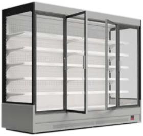 Regał chłodniczy z drzwiami uchylnymi - Mawi, MODUS HGD MAX 0.9 1250x904x2200mm