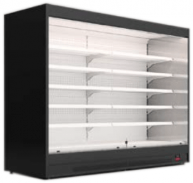 Regał chłodniczy otwarty bez boków - Mawi, Modus MAX 1500x674x2200mm