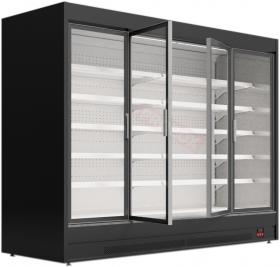 Regał chłodniczy z drzwiami uchylnymi - Mawi, MODUS HGD 0.9 1250x904x1990mm