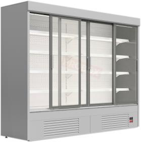 Regał chłodniczy z drzwiami przesuwnymi - Mawi, GRANDIS SGD 0.9 1330x904x1990