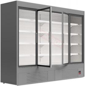 Regał chłodniczy do sklepu z drzwiami uchylnymi - Mawi, GRANDIS HGD 0.7 2580x674x1990mm