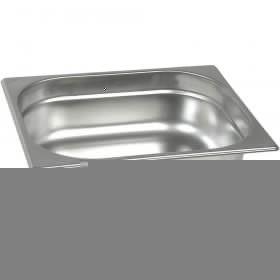 Pojemnik stalowy, Basic, GN 1/2, H 20 mm