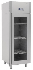 Szafa chłodnicza Premium z drzwiami przeszklonymi o wym. 714x869x2065 mm
