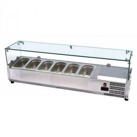 Nadstawka chłodnicza 6xGN1/3 PXVRX1500/380