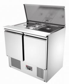 Stół chłodniczy sałatkowy dwudrzwiowy - Resto Quality, RQS900-H
