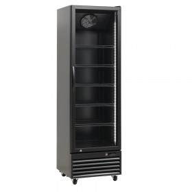 Szafa chłodnicza przeszklona 394L - Resto Quality, SD426-BLACK (RQ429)