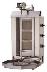 Gyros, opiekacz gazowy do kebaba | 4 palniki | wsad do 60 kg | RQ32464