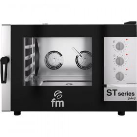Piec konwekcyjno-parowy, piekarniczy, ST-Bakery, manualny, 4x(600x400), P 7.5 kW