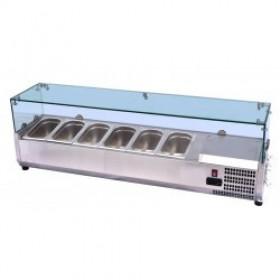 Gastronomiczna nadstawka chłodnicza 5xGN1/3 PX-VRX1200/380