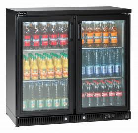 Gastronomiczna Chłodziarka do butelek 250L 2 drzwi