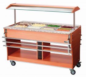 Wózek bufet grzewczy 4x1/1GN, gł. 150