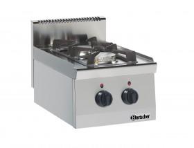 Kuchnia gastronomiczna gazowa 600, 2PAL