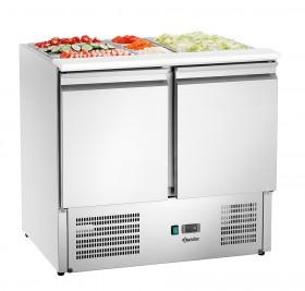 Stół chłodniczy, sałatkowy 900T2 +GL