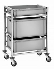 Gastronomiczny wózek do transportu skrzynek 3EB