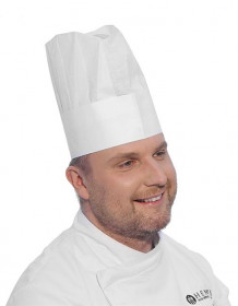 Czapka kucharska - zestaw 10 szt.