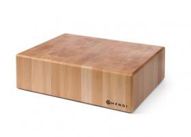 Kloc masarski drewniany bez podstawy 200