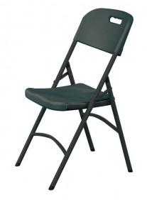 Krzesło cateringowe - czarne 540x440x(h)840 mm