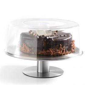Patera profesjonalna obrotowa do ciasta pokrywa