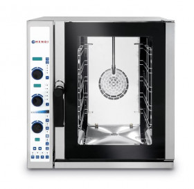 Piec gastronomiczny konwekcyjno-parowy 5xGN 2/3, elektryczny, sterowanie elektroniczne