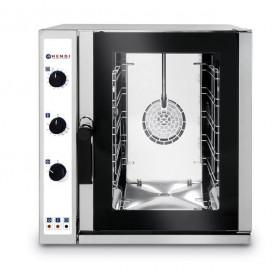 Piec gastronomiczny konwekcyjny z zaparowaniem 5xGN2/3, elektryczny, sterowanie manualne