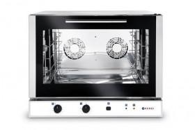 Piec piekarniczy, konwekcyjny z nawilżaniem 4x600x400 mm - elektryczny, sterowanie manualne, jednofazowy