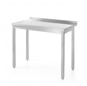 Stół nierdzewny roboczy przyścienny - skręcany 80-60-85 cm