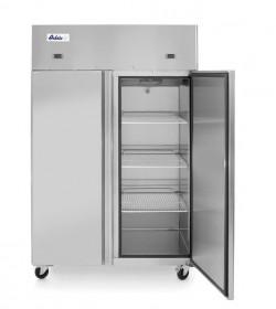 Szafa chłodniczo - mroźnicza gastronomiczna nierdzewna zapleczowa 2-drzwiowa 420+420L Arktic