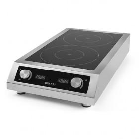 Kuchenka gastronomiczna indukcyjna podwójna model 7000