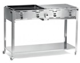 Grill gastronomiczny gazowy - Master Quattro