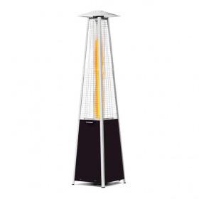 Lampa grzewcza gazowa z płomieniem piramida