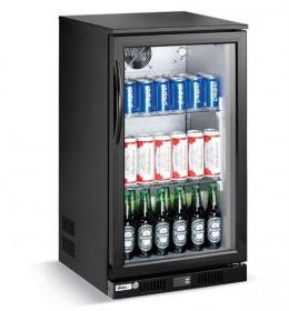 Podblatowa szafa chłodnicza przeszklona na napoje 1-drzwiowa 118 l