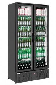 Szafa chłodnicza przeszklona na napoje 2-drzwiowa 458 l