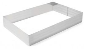 Rant piekarniczo-cukierniczy prostokątny 250x350x(H)80 mm