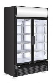 Szafa chłodnicza przeszklona z podświetlanym panelem 2-drzwiowa 750 l Arktic