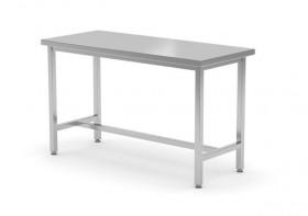 Stół centralny wzmocniony bez półki - spawany, o wym. 1200x800x850 mm