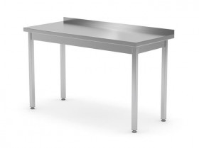 Stół przyścienny bez półki - spawany, o wym. 800x700x850 mm