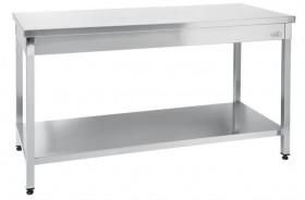 Stół roboczy centralny z półką, 1200x700x850mm