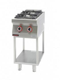 Kuchnia gazowa 2 - palnikowa na podstawie szkieletowej