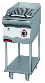 Lawa grill 400 mm 7kW na podstawie szkieletowej