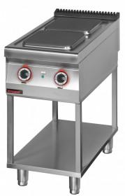 Kuchnia elektryczna 2 płytowa 450 mm 2x4,0 kW na podstawie szkieletowej