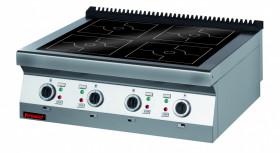 Kuchnia indukcyjna 900 mm 4x5,0kW