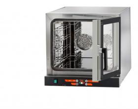 Piec konwekcyjny elektroniczny-otwieranie boczne D04NE595DX   4x450x325 lub 4x435x350   3,15kW